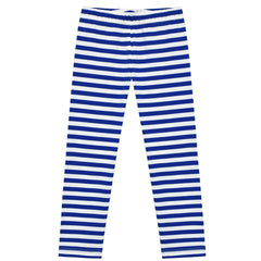 Girls Pants 3-Pack Cotton Leggings Striped Stretchy Kids Size 2-6 Years
