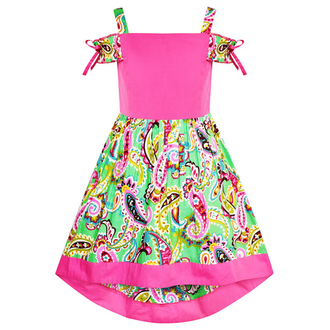 Clothing, Shoes & Accessories Girls Summer Dress 100% Cotton Size 6