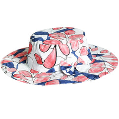 2 Pieces Girls Dress Hat Colorful Leaf Party Holiday Size 4-12 Years