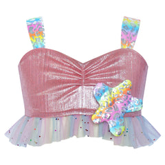 Girls Dress Mermaid Princess Costume Halloween Starfish Size 2-8 Years