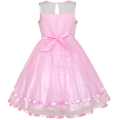 Girls Dress Pink Unicorn Dress Up Princess Crown  Size 4-12 Years