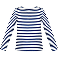 Girls Tee Navy Blue Striped T-shirt Size 4-12 Years