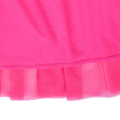 Girls Dress Butterfly Long Sleeve Pink Tulle Skirt Size 4-8 Years