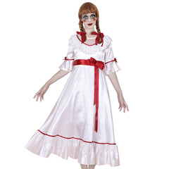 Girls Dress Mom's Costume Cosplay For Annabelle Halloween Party