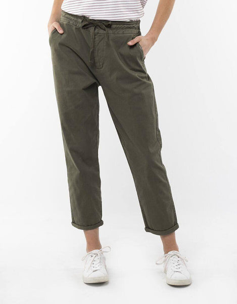 Elm Adelyn Chino Pants - Khaki