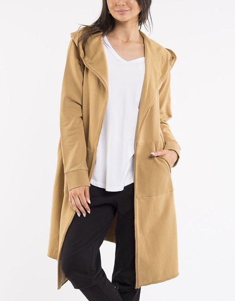 Foxwood Naomi Hooded Cardigan - Mustard