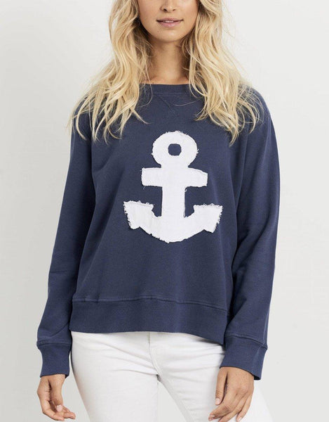 Est 1971 Frayed Anchor Windy - Old Navy
