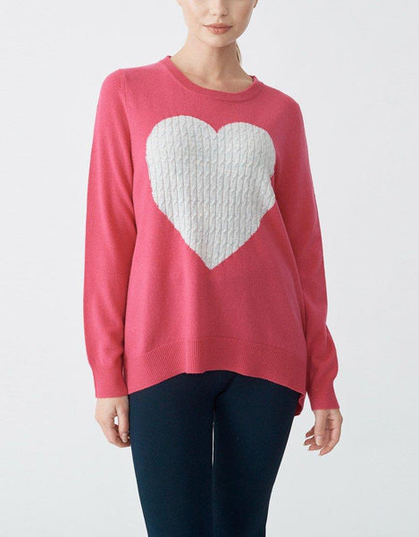 Total Eclipse of the Heart Sweater - Pinky Pink