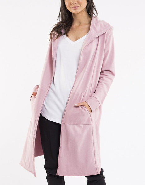 Foxwood Naomi Hooded Cardigan - Pink