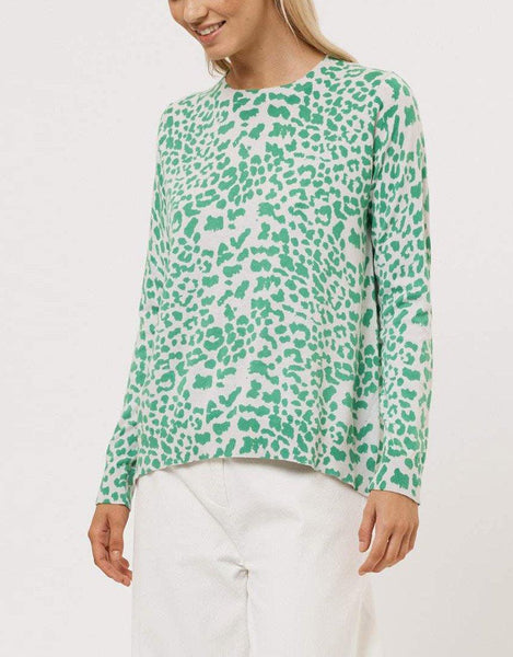 Alessandra Safari Sweater - Chalk Farm