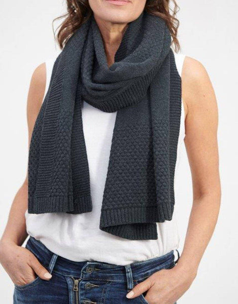 Bubbles Scarf/Wrap - Charcoal