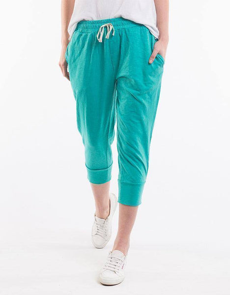 Elm 3/4 Brunch Pants - Green