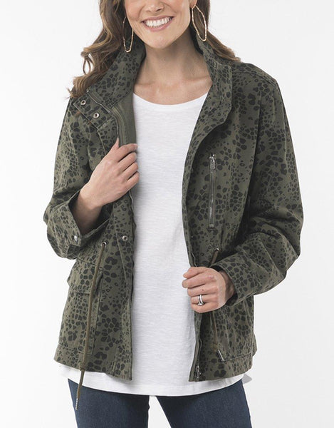 Elm Wild at Heart Jacket - Khaki