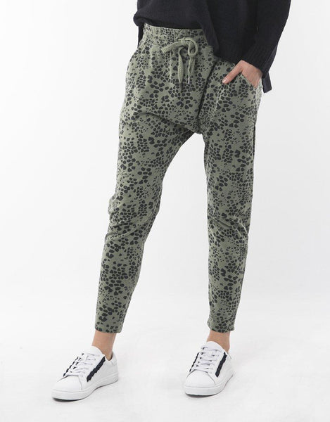 Elm Wild at Heart Pants - Khaki