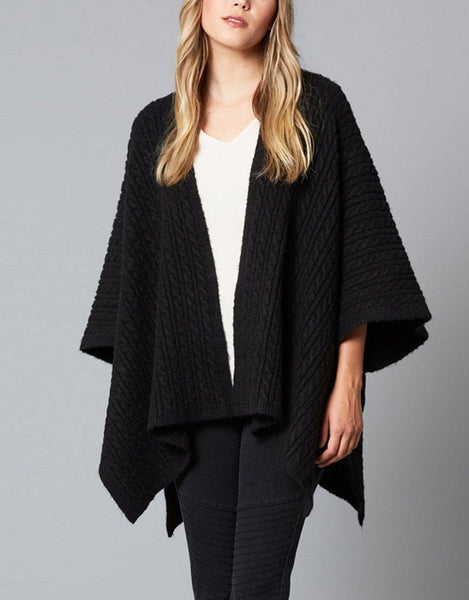 Isle of Mine Cozy Throw - Black