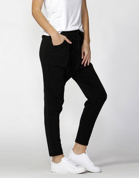 Betty Basics Essentials Jade Lounge Pants - Black