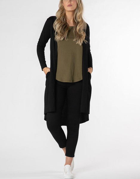 Betty Basics Essentials Scarlett Cardigan - Black