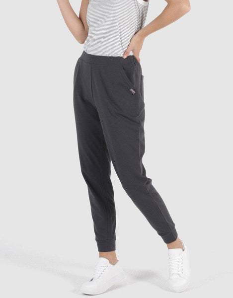 Betty Basics Essentials Lindsay Jogger - Gunmetal