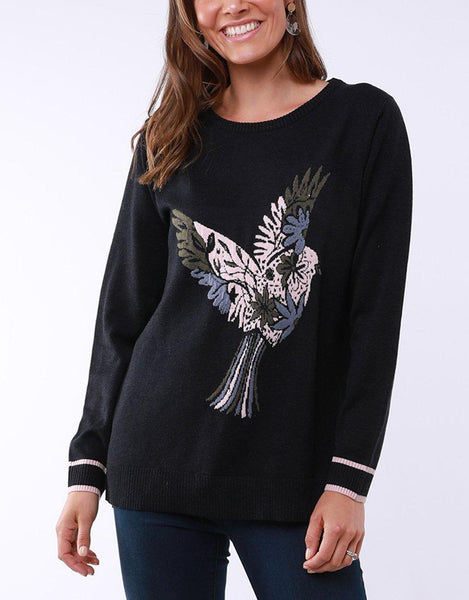 Flying Away Knit - Navy