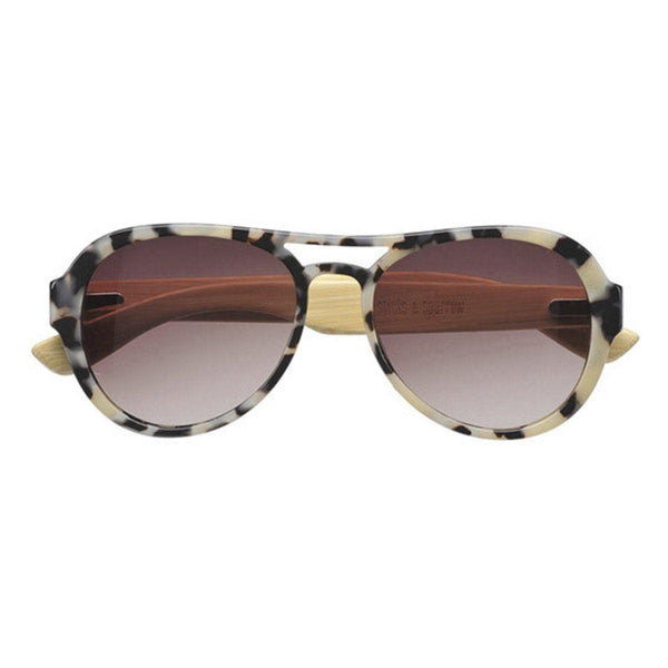 Sticks and Sparrow - Drifter Tortoise Shell Aviator Sunglasses