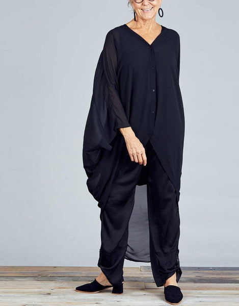 Claudia Overshirt - Black