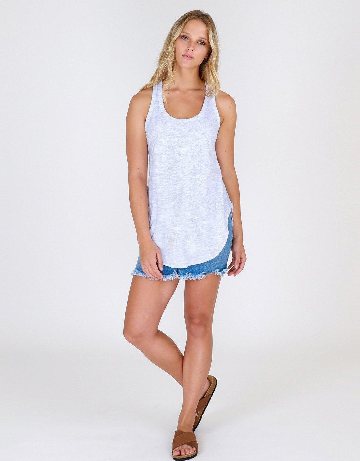 3rd story The Label Hamilton Tank - Grey Marle