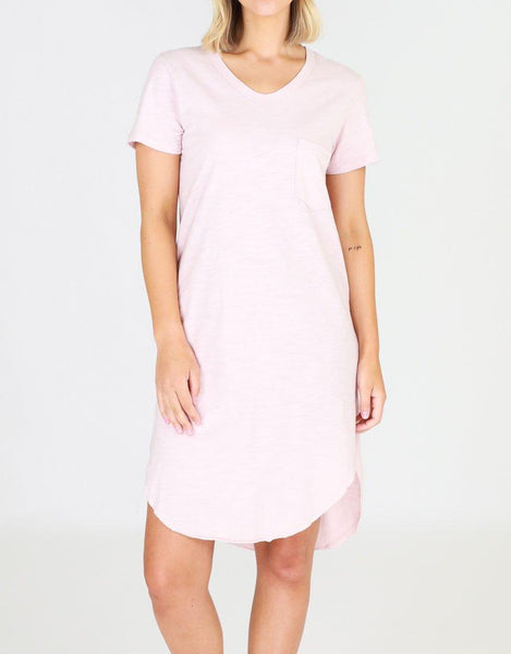 3rd Story Milly Dress - Blush Marle
