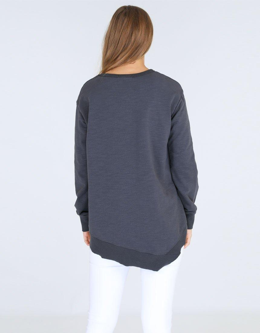 3rd Story The Label Newhaven Sweater - Charcoal