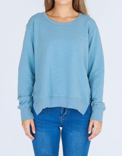 3rd Story The Label Ulverstone Sweater - Duck Egg Blue