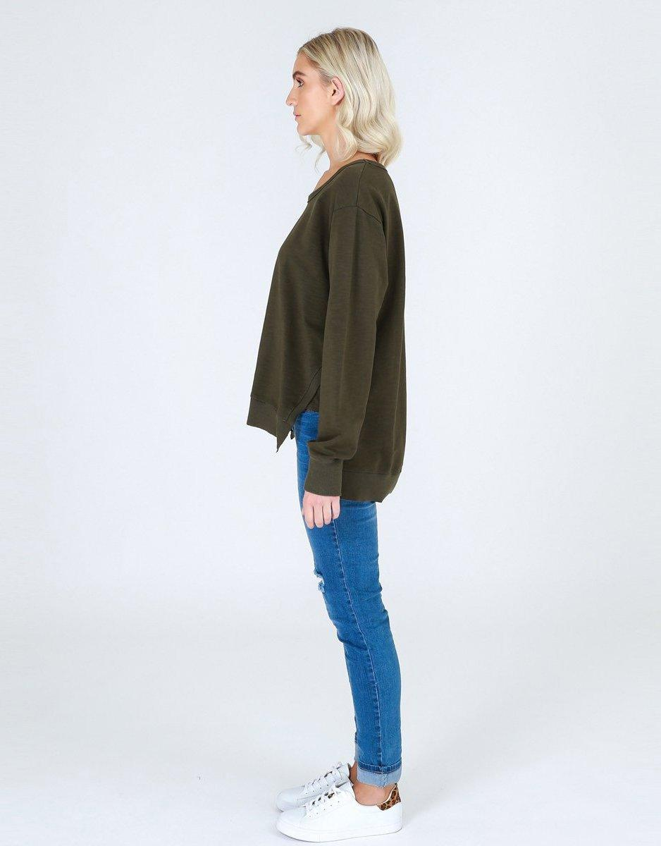 3rd Story The Label Ulverstone Sweater - Khaki