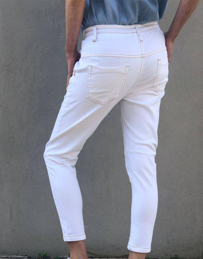 Active Denim White Jeans