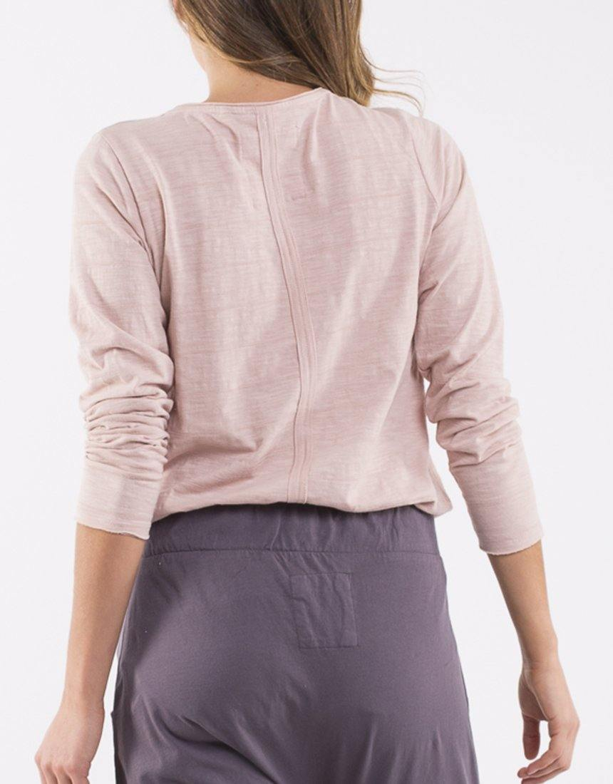 Elm Coles Bay Long Sleeve Henley - Pink