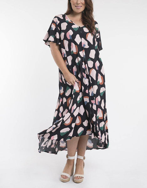 Elm Embrace Annie High Low Dress