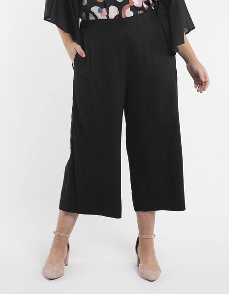 Elm Embrace Camilla Pants - Black