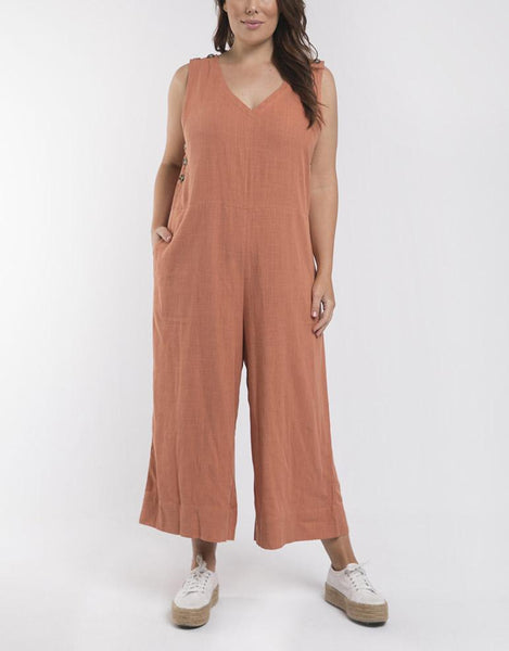 Elm Embrace Penny Jumpsuit - Copper