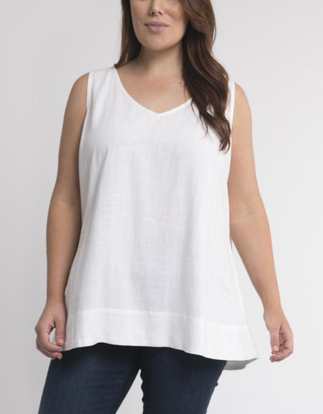 Elm Embrace Staple Cami - White