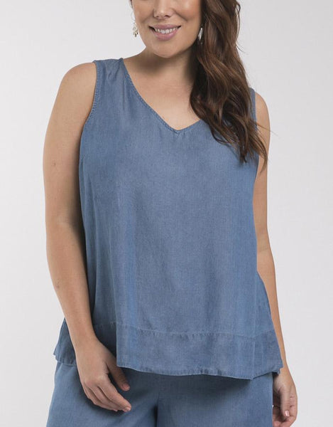 Elm Embrace Staple Chambray Cami