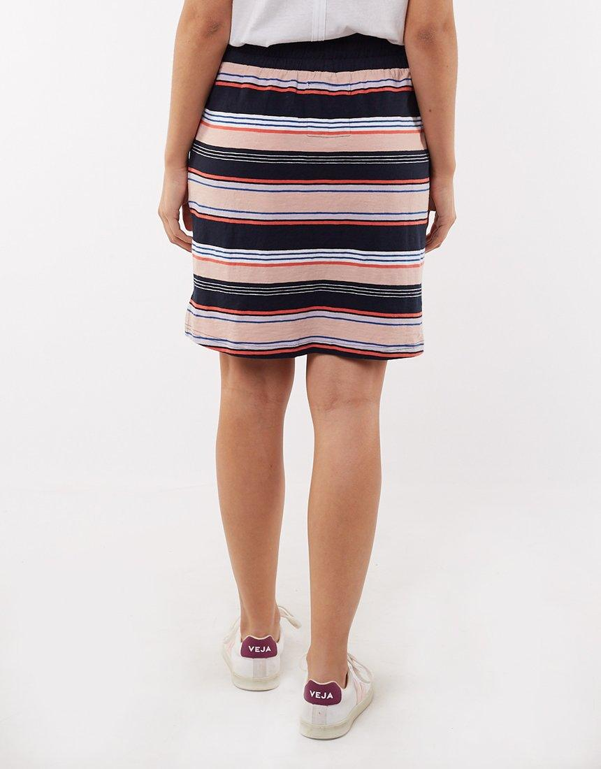 Elm Solstice Stripe Skirt