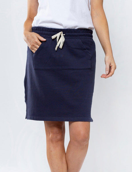Elm Limonchello Skirt - Navy