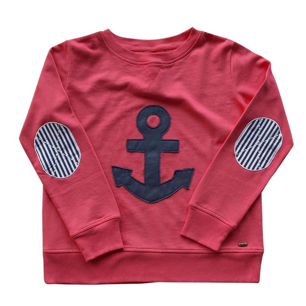 Est 1971 Frayed Anchor Windy - Portsea Red