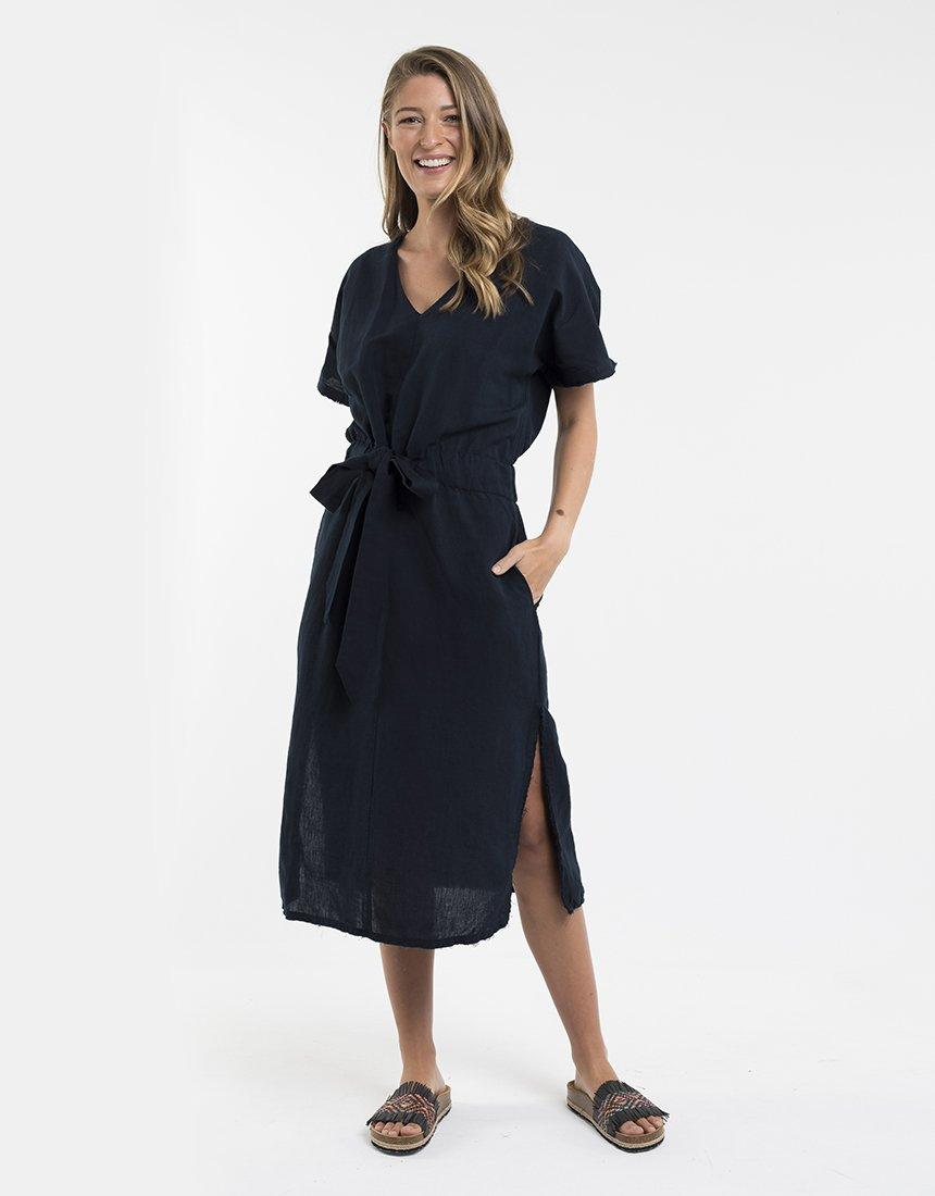 Foxwood Orchid Dress - Navy