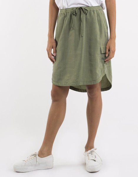 Foxwood Upstate Cargo Skirt - Khaki