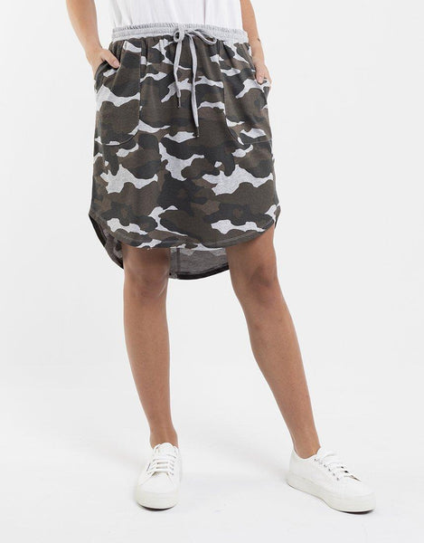 FOXWOOD Vacation Skirt - Camo