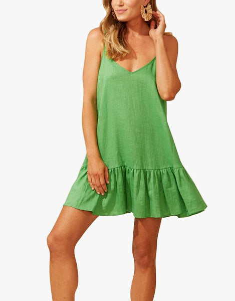 Martinique Tank Dress - Jade