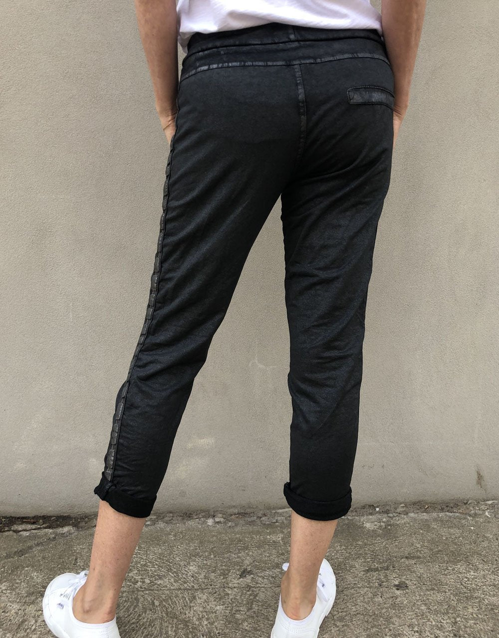 Italian Star Coated Jegging
