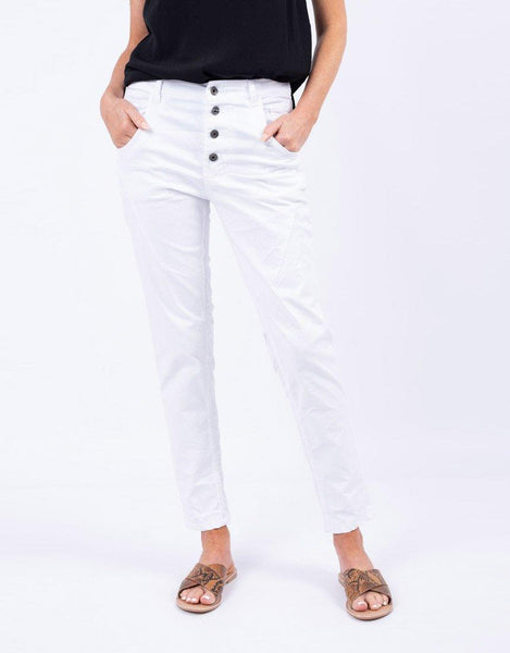 Italian Star Saint Barts Pants - White
