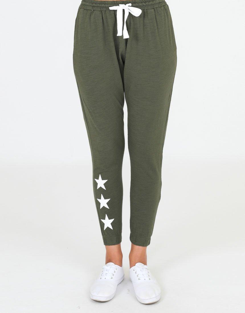 Sat + Sun Star Pants - Khaki