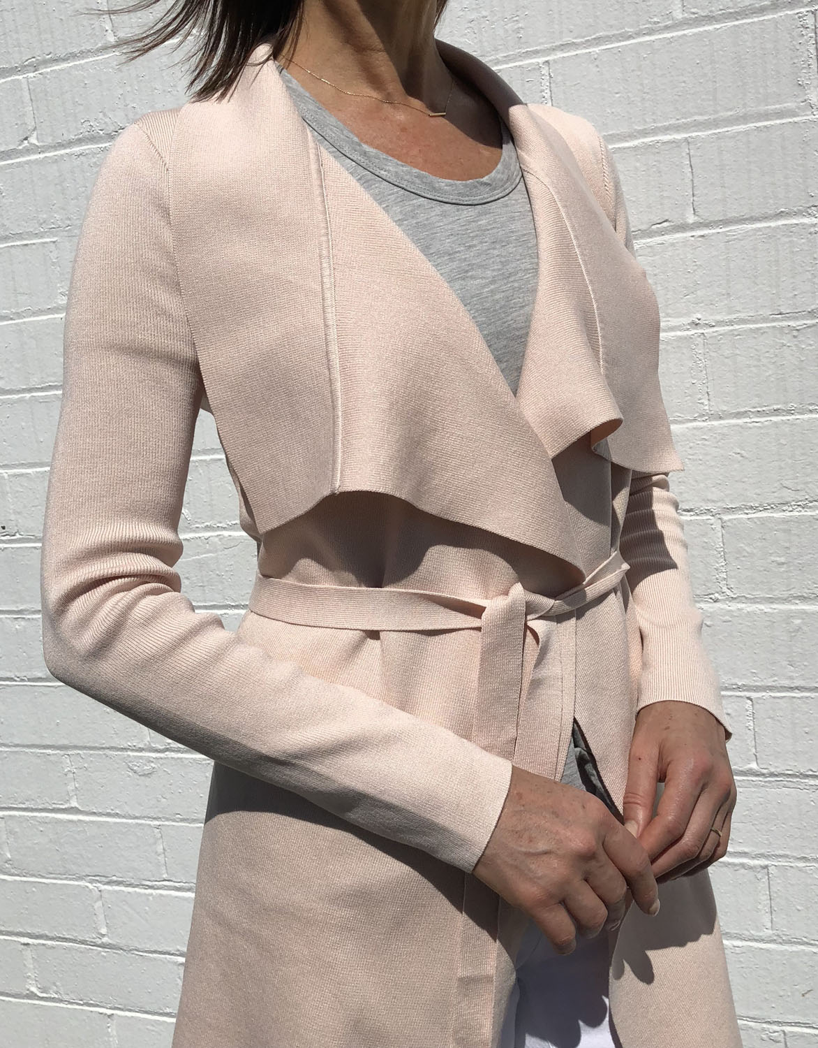 a911cdca0 The Uptown Jacket - Blush - White and Co