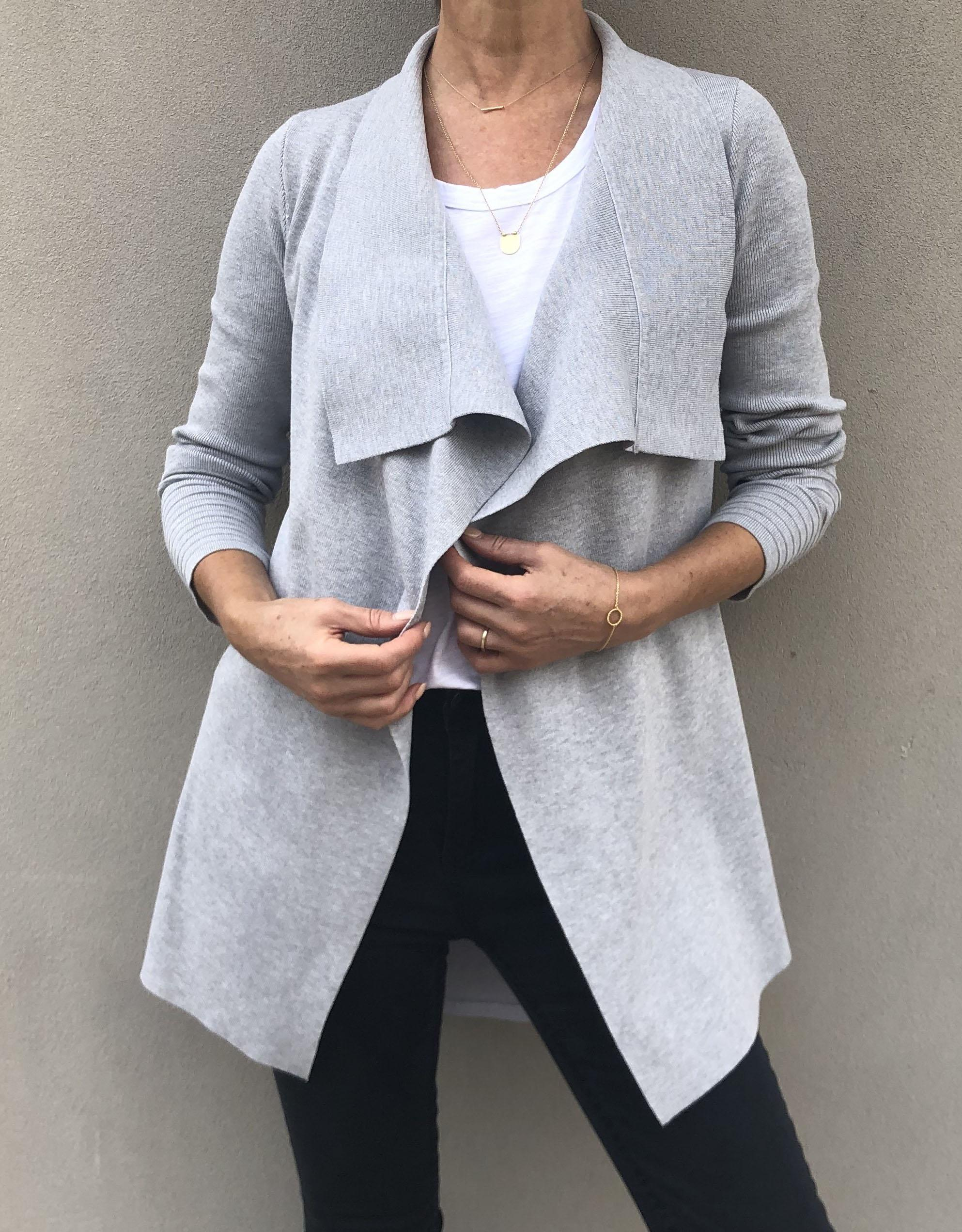 The Uptown Jacket - Grey