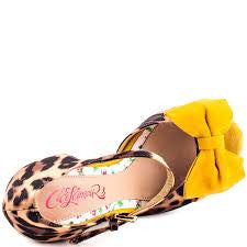 Barbara Leopard Wedge